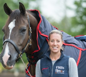 Charlotte and Valegro portrait