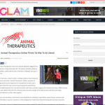 Press article animal therapeutics pivots it's way to an award
