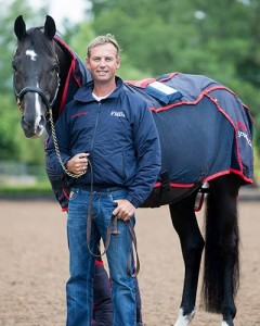 Carl Hester and horse