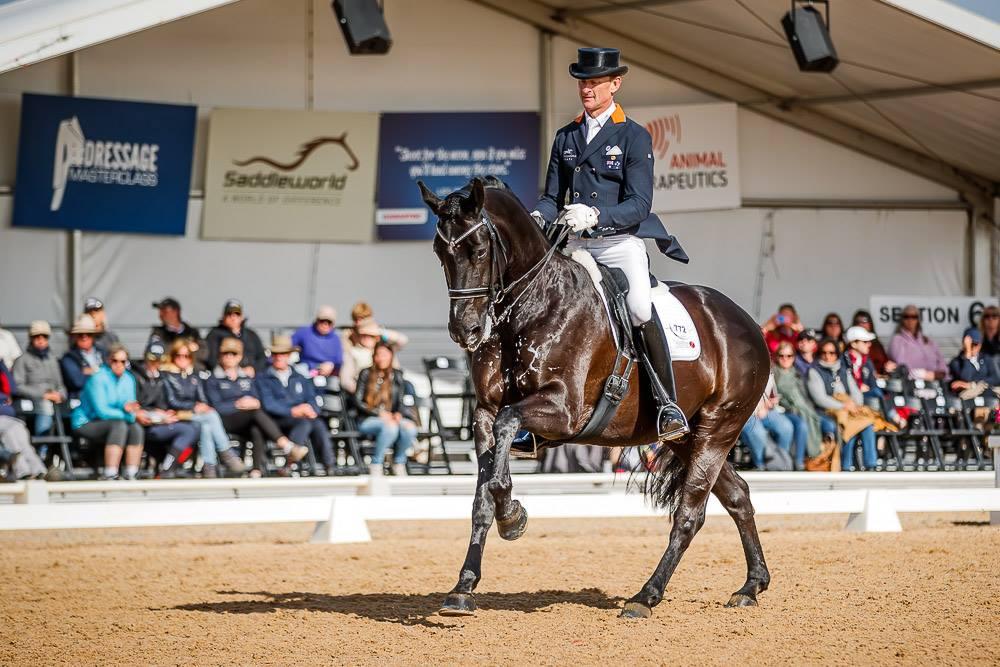 Brett Parbery dressage rider Animal therapeutics